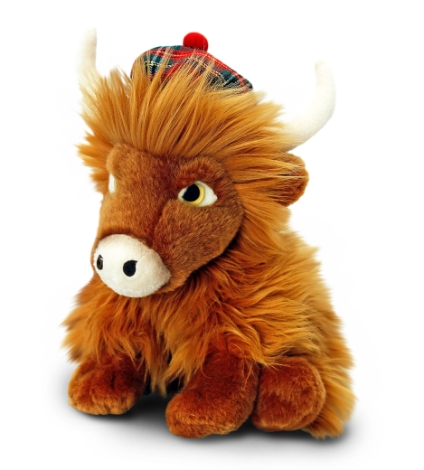 25cm-highland-cow-with-tartan-hat