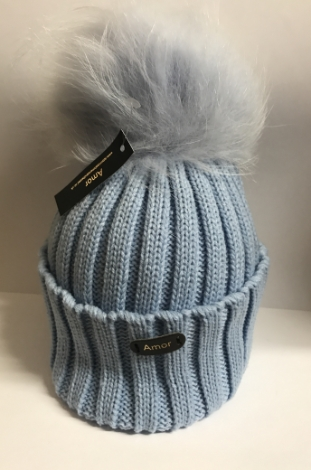amor-ribbed-turnup-pompom-hat-baby-blue-dyed