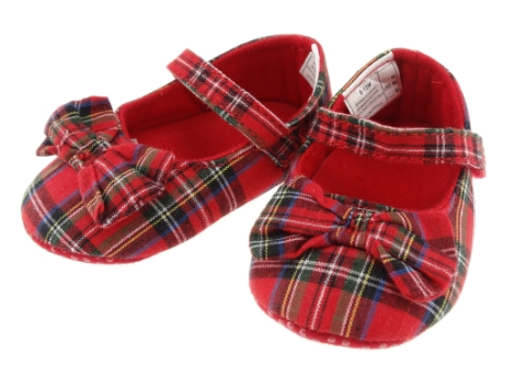 childrens-tartan-shoes-with-bow-royal-stewart-1218-months