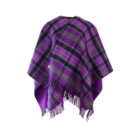 edinburgh-100-lambswool-mini-cape-bruce-purple-grey