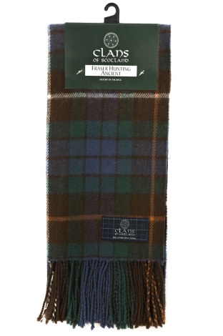 scottish-clan-scarf-fraser-hunting-ancient
