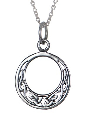 sterling-silver-small-round-celtic-knotwork-pendant